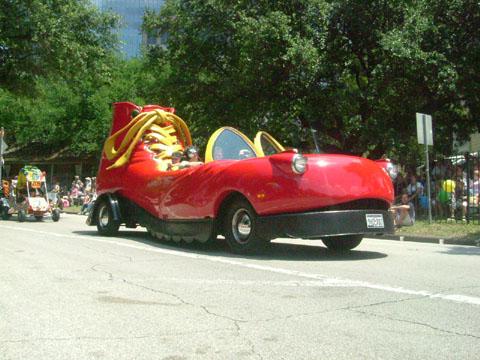 ヒューストン アートカーパレード