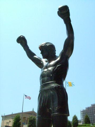 ロッキー像