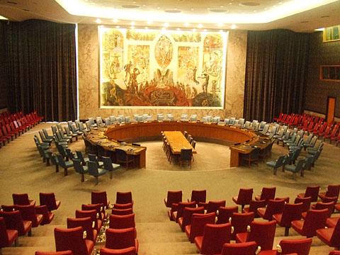 国際連合安全保障理事会議室