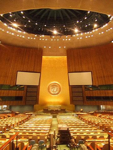 国際連合総会会議室