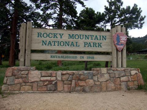 ロッキーマウンテン国立公園/コロラド州