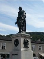 ザルツブルグ~モーさん銅像~