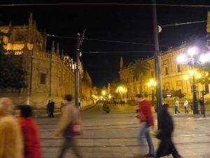 セビーリャ夜の街