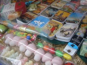 サンルイ島のお菓子屋さん