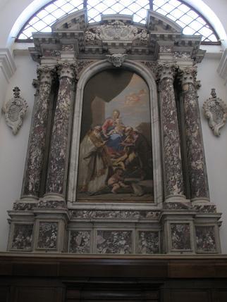 パドヴァ大聖堂内部2