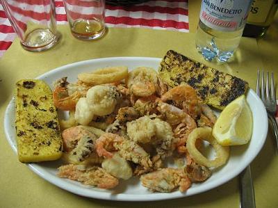 ヴェネツィアの高い昼食