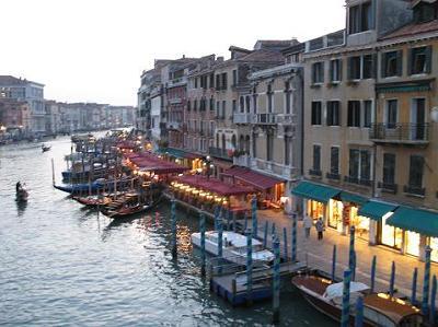 ヴェネツィアの夕暮れ3
