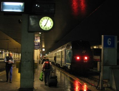 ヴェネツィア駅出発7:17