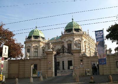 ウィーン ヴェルヴェデーレ宮殿