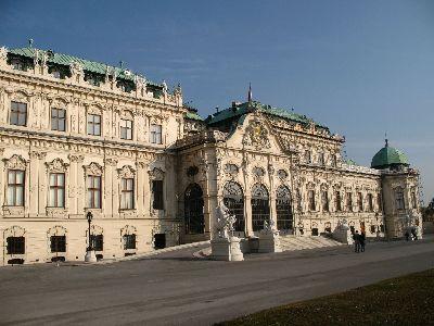 ウィーン2 ヴェルヴェデーレ宮殿