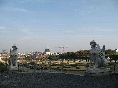 ウィーン3 ヴェルヴェデーレ宮殿