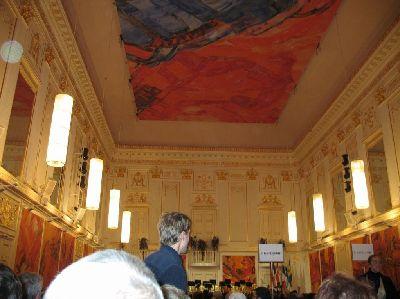 ウィーンの王宮コンサート会場