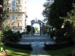 ストレーザ ホテルの庭