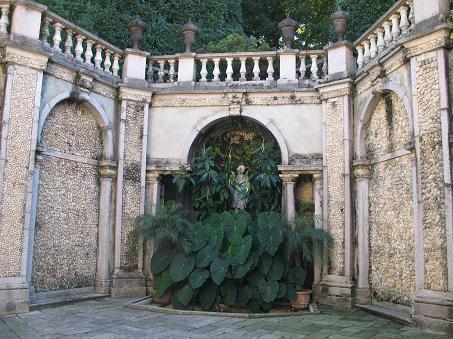 ベッラ島の庭