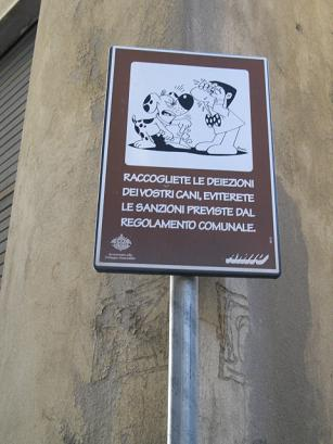 Genovaの看板