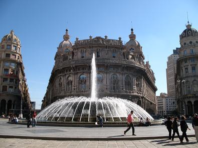 Genovaの噴水