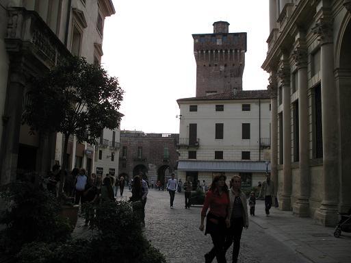 ヴィチェンツァの街
