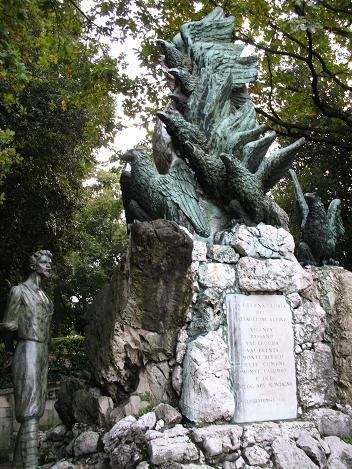 ヴィチェンツァ駅上の公園