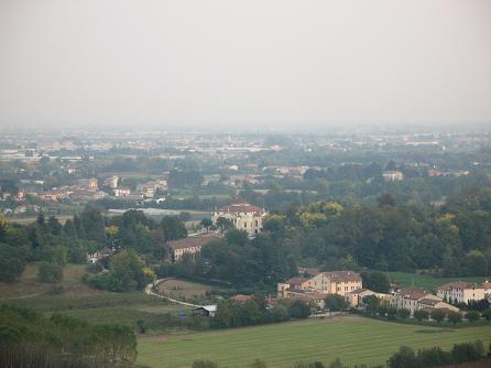 ヴィチェンツァ駅上の眺め
