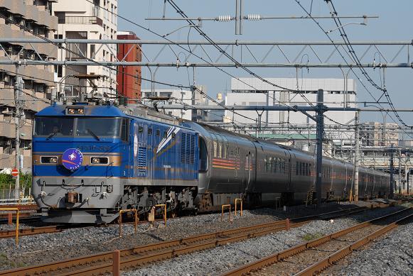 8009レ カシオペア EF510-506