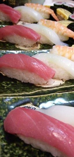 コース寿司