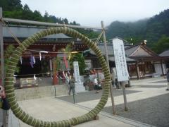 大山阿夫利神社 下社の茅の輪