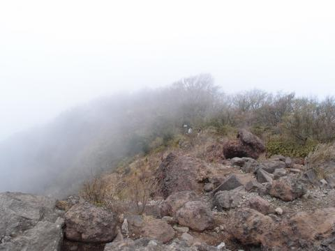 金時山山頂