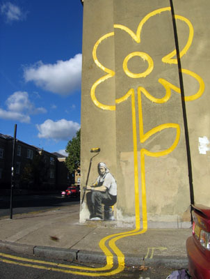 banksy_bethnal_green_yellow_lines_flower.jpg