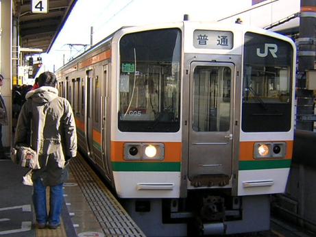 東海道本線(2007.12.31)