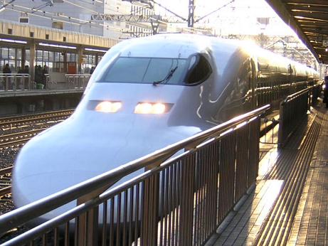 東海道新幹線(2008.1.4)