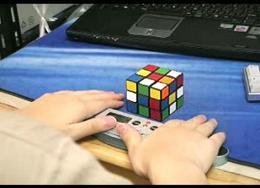 ルービックキューブの神業動画