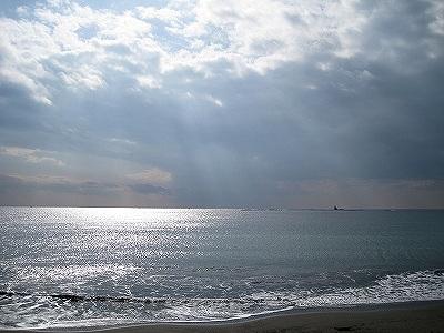 海の景色は秒で変る