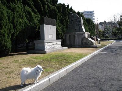 いろいろな軍艦の碑