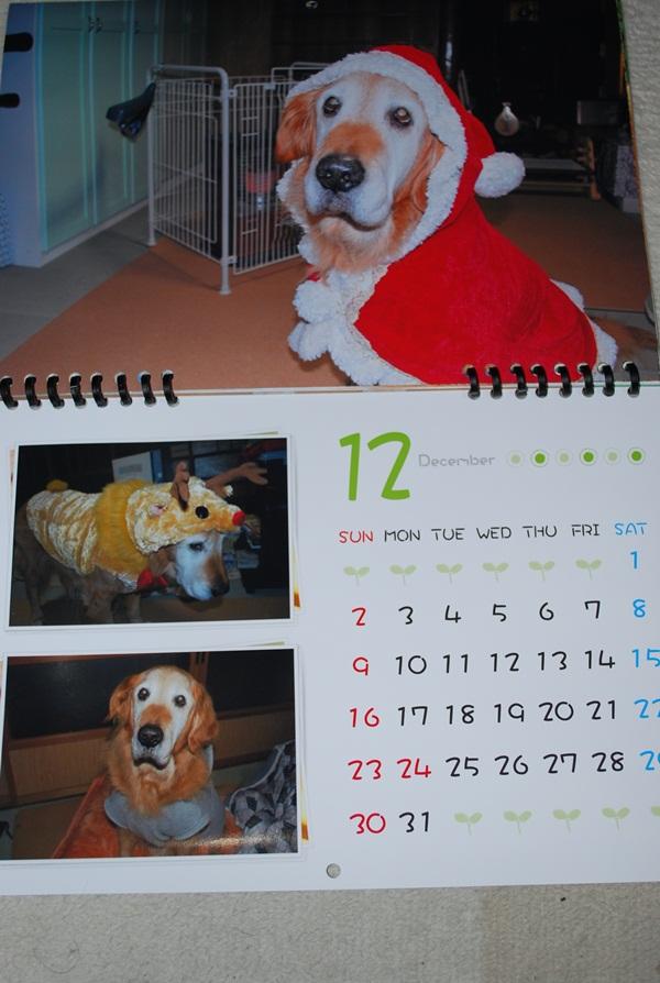 2012カレンダー12月