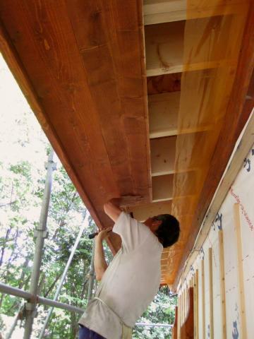 軒の作業825