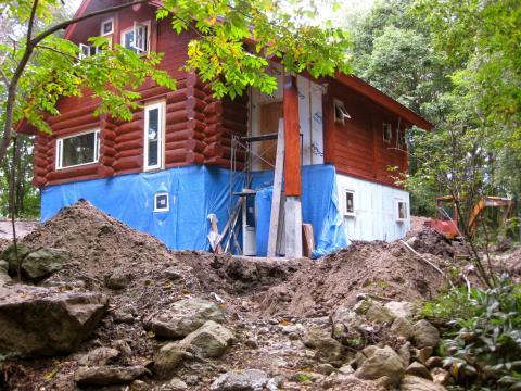 浄水槽の工事926