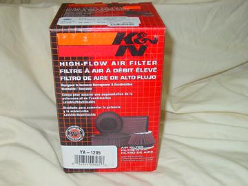 XJR1300 K&Nエアフィルター
