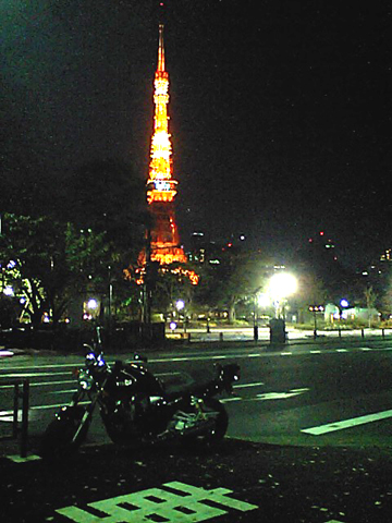 XJR1300 東京タワー