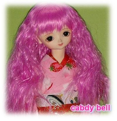 pinkのウイッグ