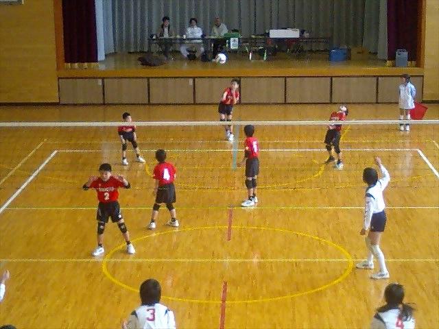 少年バレーボール弥富大会3