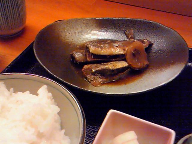 みち田(鰯の生姜煮)