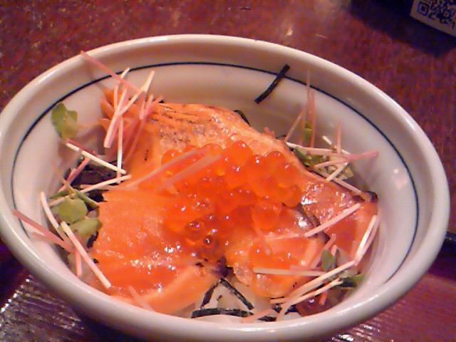 そじ坊(鮭親子丼セット)2