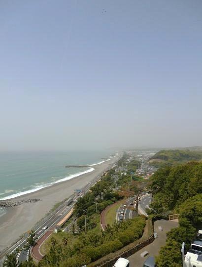 坂本龍馬記念館から太平洋を望む