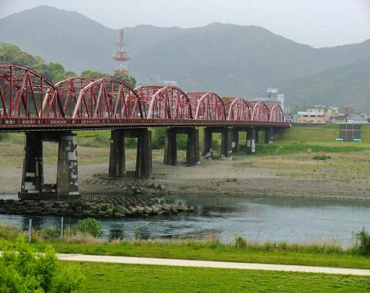 四万十川架橋