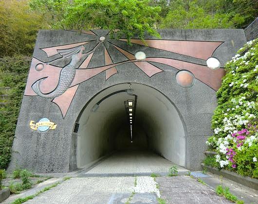 宇和島郊外トンネル①