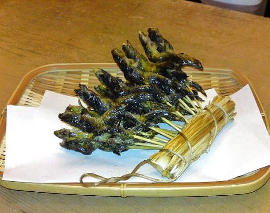 鰍(カジカ)料理