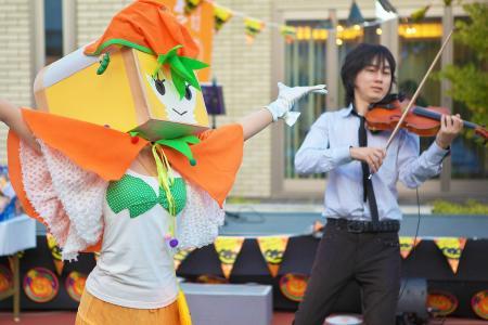 バイオリン濱嶋さんと