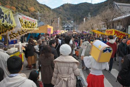 伊奈波神社初詣