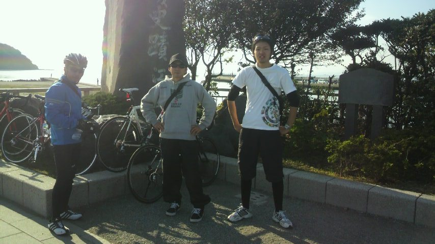 2011.11.17 江ノ島 ライド23歳、28歳、45歳と共に