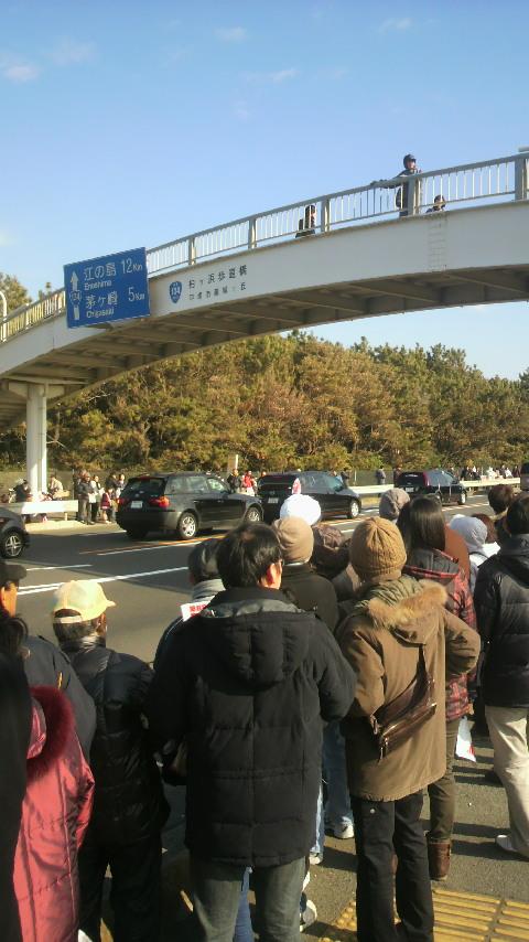2012.乗り始めはいつもの箱根駅伝 平塚